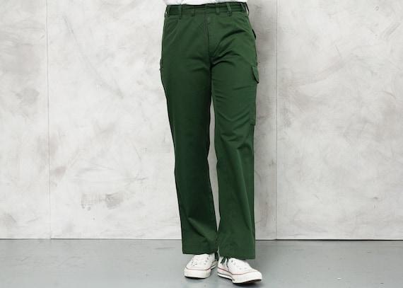 Vintage Army Surplus Trousers . Men Military Pants