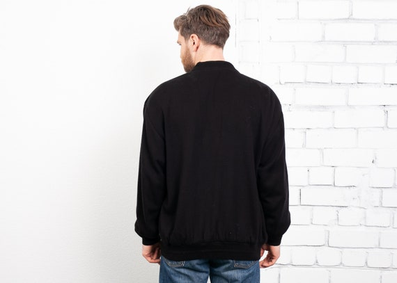 Suede and Knit Cardigan Jacket . Vintage Cardigan… - image 3