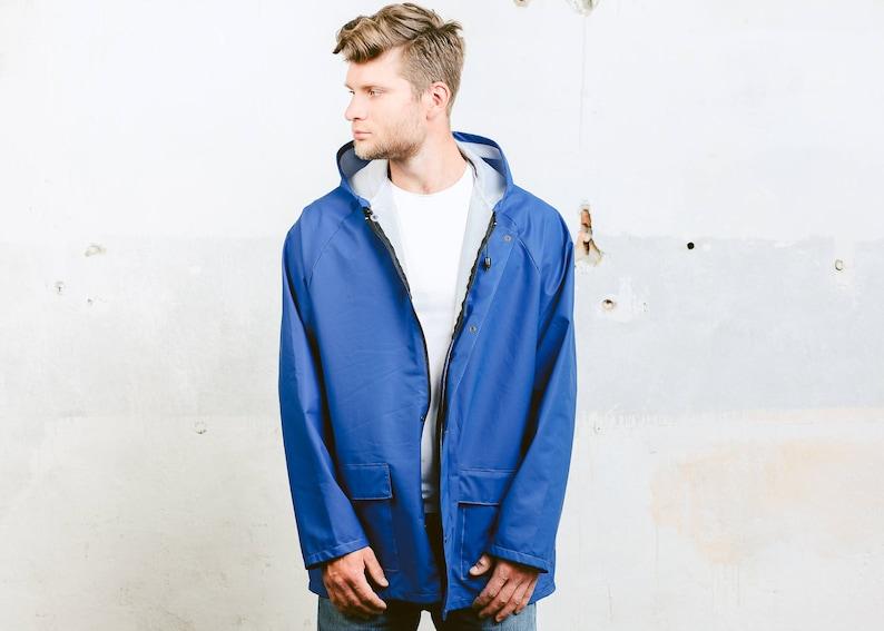 415e3e95d Vintage Rain Jacket . 80s Windbreaker Jacket Festival Coat | Etsy
