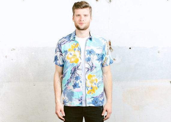 Herren-Hawaii-Hemd. Vintage 60er Jahre Aloha Shirt Muster | Etsy