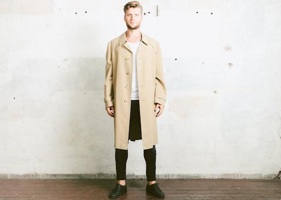 Vintage 80/'s Classic velvet trench coat