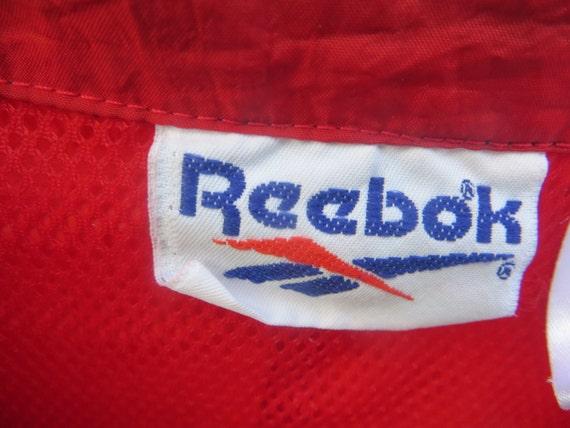 vintage Reebok colorblock Windbreaker Jacket Vint… - image 3