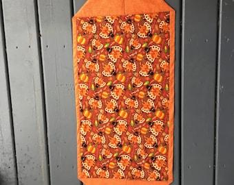 Thanksgiving Lined/Reversible Table Runner      Turkeys and Football    Pilgrim Turkeys  Pumpkins
