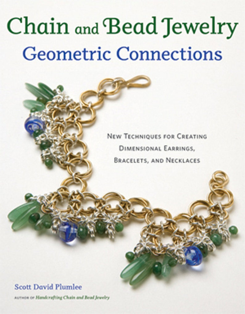 Chain and Bead Jewelry Geometric Connections Book image 0