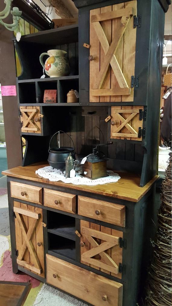 Primitive Furniture Rustic Farmhouse, Rustic Farmhouse Furniture