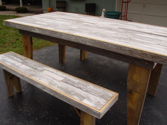 Superb Kitchen Table Harvest Table Dining Table Barn Wood Furniture Farm Table Benches Reclaimed Barn Wood Furniture Rustic Table Furniture Alphanode Cool Chair Designs And Ideas Alphanodeonline