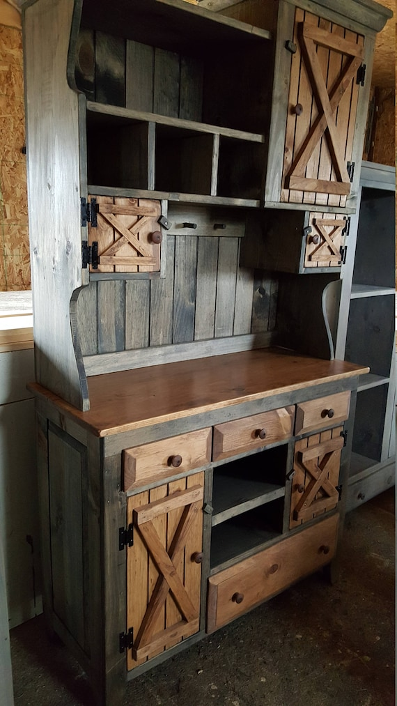 Step Back Cabinet Primitive Furniture Rustic Farmhouse Etsy