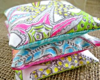 Lavender Sachets -- Gift Set of 3 -- Summer Starfish