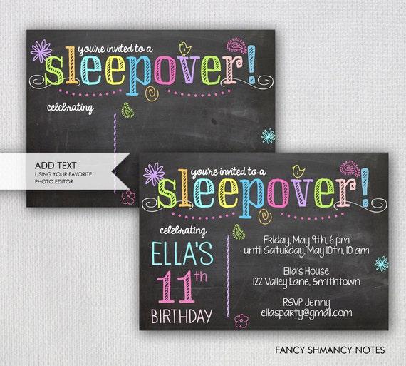 Geburtstags übernachtungsparty