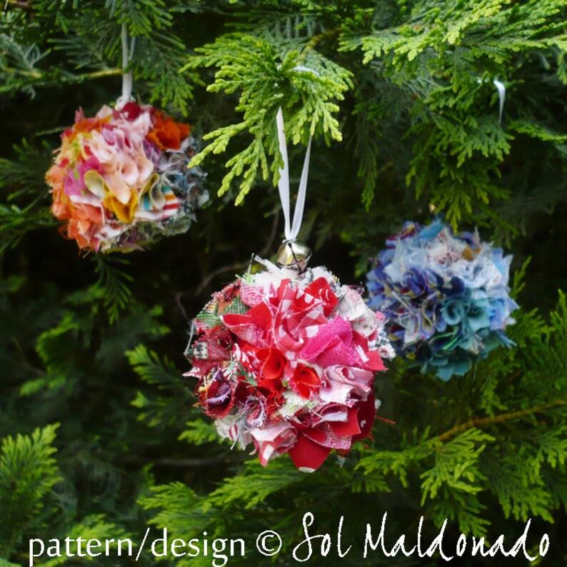 f3bfa9bc042729 Christmas Ornament Tutorial Scraps Fabric Pattern NO