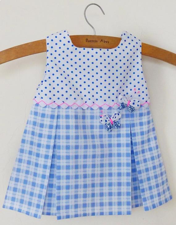Items similar to Baby Dress Pattern Tutorial Girl pdf - S,M,L with Yo Yo butterflies ...