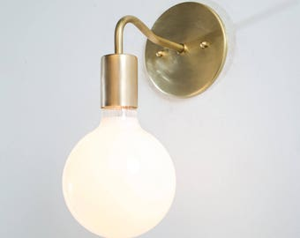 industrial lighting bare bulb light fixtures. Bathroom Wall Lights - Brass Mid Century Sconce Light Gold Fixture Bare Bulb Industrial Lighting Fixtures D