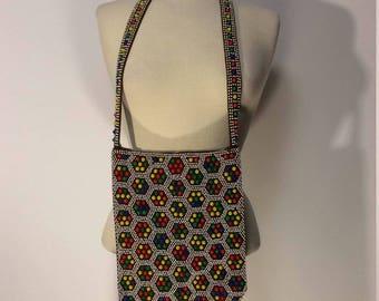 Vintage 60's Beaded Bag