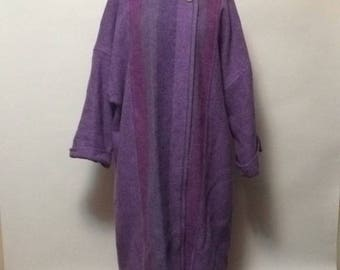 Vintage Avoca Collection 100% Wool Coat OS
