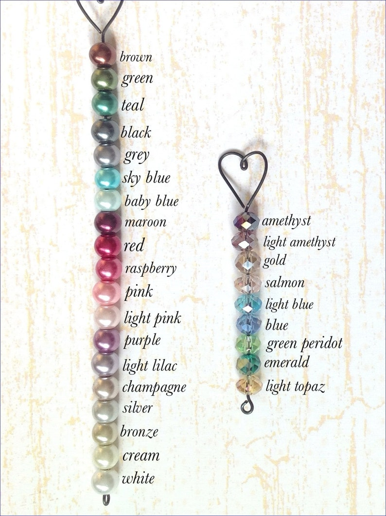 6f0dfd6889d13 Personalized Unique Name Bookmark with Heart and Bead, Personalised Unique  Bookmark with Heart, Unique Handmade Custom Bookmark