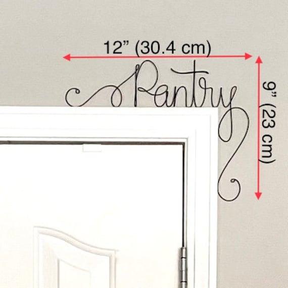 Unique /'Utility/' Door Sign Unique Overabove the Door /'Utility/' Wall Word