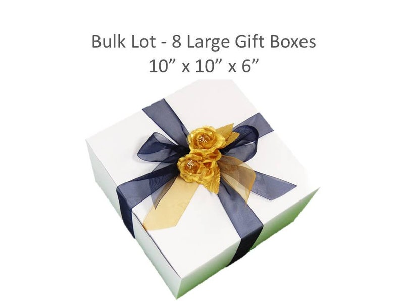 8 Large Gift Boxes For Wine Glasses Clothing Gift Box Bridesmaid S Gift Box Wedding Party Gifts