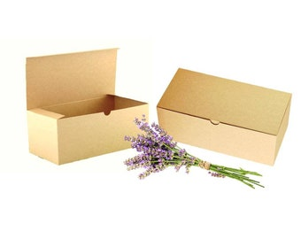 Kraft Wine Glass Box - 30 Kraft Stemware Boxes, Flutes Gift Boxes, Bridesmaid Favor Box, 30 Wine Glass Box, Wine Glass Favor Box