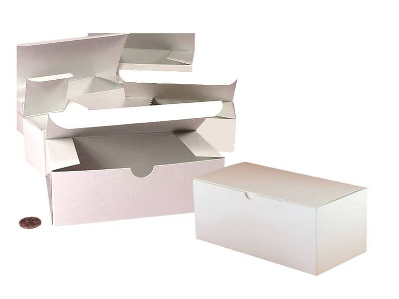 10x5 White Box Rose Topper Ribbon 20 Glassware Gift Box Kits Groomsmens Gifts Favor Gift Box Box Kits for Wine Champagne Beer Glasse