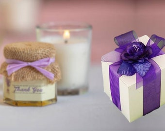25 Candle Favor Boxes 4 x 4 - Wedding Favor Box, Coffee Mug Boxes, 25 White Gift Boxes,  Favor Box for Soaps, 25 White 4x4 Boxes