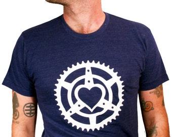 Chainring Heart Unisex T-Shirt
