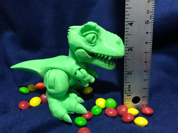 Dinosaur Action Figure Digimon Gon Birthday Gift 3d Etsy
