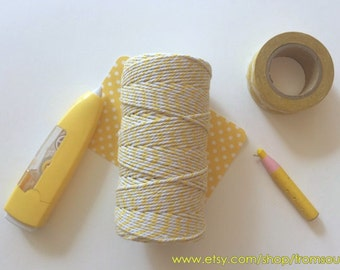 Bakers Twine, Yellow (110 yard spool)