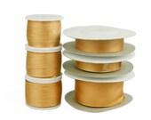 100 Pure Silk Embroidery Ribbon Tape Double Face Thin Taffeta 2mm-25mm, 1 16 39 39 1 39 39 ,276 Apricot