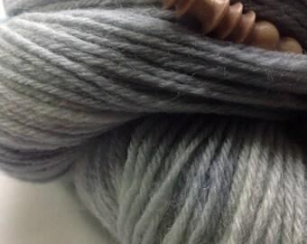 100% Poll Dorset Organic 4 ply yarn