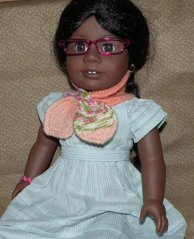 Sassy Seasons Knitted Scarf Pattern For American Girl Doll Etsy