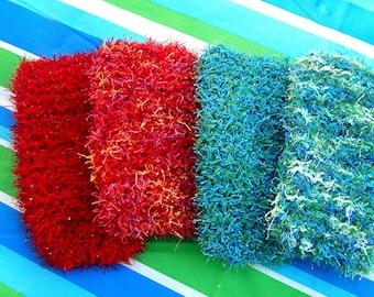 Handmade Knit Dish Scrubbies