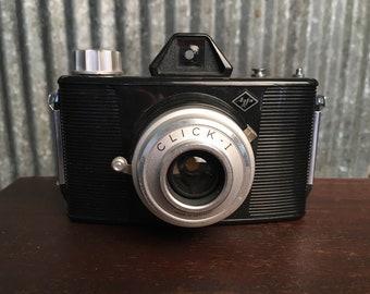 Vintage Agfa Click - I 120 Film Camera - Classic Film Camera, Plastic Camera