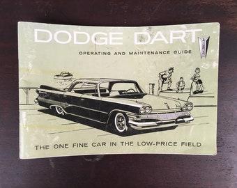 1960 Dodge Dart Operating Guide - Owners Manual