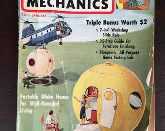 Vintage Science and Mechanics Magazine - January 1961
