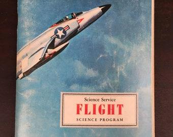 Vintage Flight Booklet - Science Service Flight Science Program book, 1969