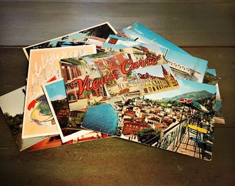 Mystery Instant Vintage Postcard Collection - Vintage Postcards, Instant Collection, Mystery Package, Lot of Postcards