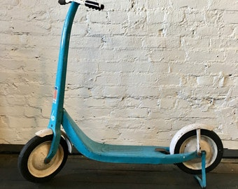 SALE! Vintage Sky Blue Radio Chief Scooter