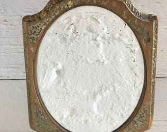 Antique Hand Held Mirror - Victorian, Rustic, Aged