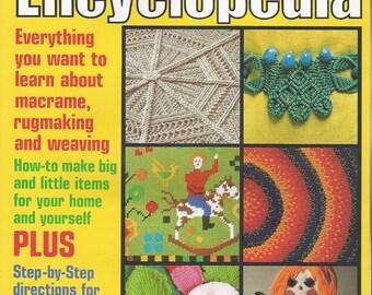 Vintage McCall's Macrame Rugmaking & Weaving Encyclopedia Vol. 3 book - 1978