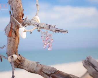 Professional Beach Earrings Jewelry Photography - On-Location - Driftwood - Product Photography - Professional Photography - SW FLORIDA