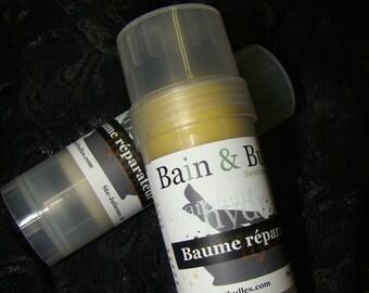 Baume réparateur, beurre de karité, shea butter, baume à tout, peaux atopiques, format poche