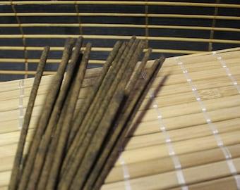 Baton d'encens parfumés,  fait à la main, handmade incense, stick