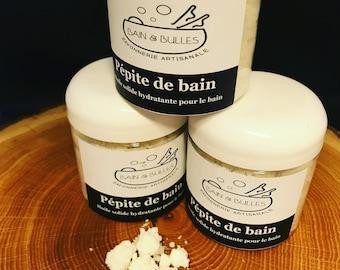 Pépitte de bain, bain  hydratant, bain, bonbon de bain, bath truffle, bath bonbon, small bath truffle