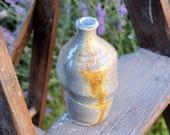 Short Wood Fired Swirl Bottle