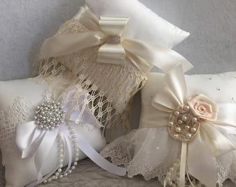 Wedding Ring Bearer Pillow, Bridal Wedding Accessories