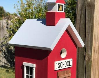 Back to School Birdhouse