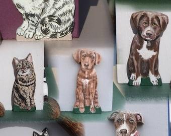 Miniature Pet Portrait Added to Your Birdhouse