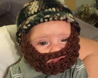 bbb6c855eed Baby beard hat