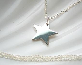 Sterling Silver Star Charm - Add On