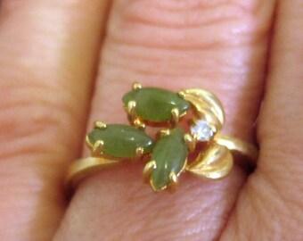 Asian Jade Ring Etsy